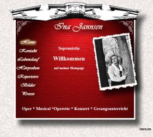 Ina Jannsen Sopranistin Hamburg