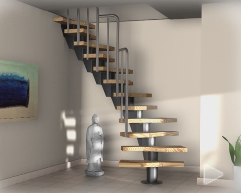 Treppenbau System
